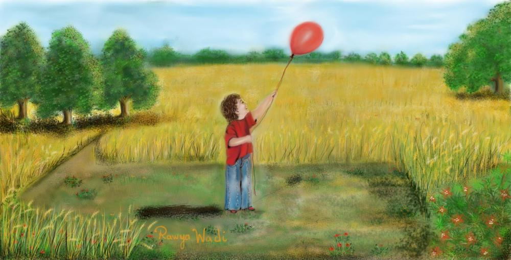 Boy with balloon2